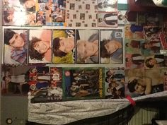 Imma show you guys my room(: prepare yourself.