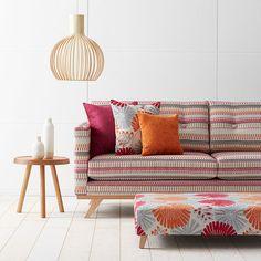 Warwick Fabrics, FRIDA Collection #upholstery #textiles #warwickfabrics