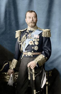 Tsar Nicholas II in his naval uniform is always an impressive sight. Imperial Officer, Royal Photography, House Of Romanov, Tsar Nicholas Ii, Neil Armstrong, Imperial Russia, Medieval Fashion, World War I, Military History