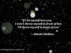 Dimitri belikov quote