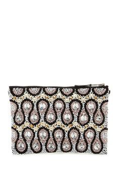 3ac6219134 Beaded And Studded Pouch Evening Bags, Pouch, Nordstrom Rack, Handbags,  Hand Bags
