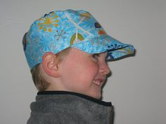 Very thorough tutorial on how to draft and sew a cadet cap for adult or child.