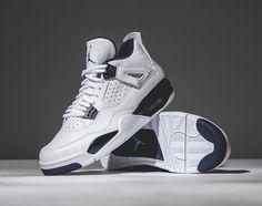 """premium selection 7f424 6fc2d Air Jordan 4 Retro """"Columbia"""" Jordans Sneakers, Nike Air Jordans, Retro  Jordans"""