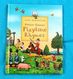 MOTHER GOOSE'S PLAYTIME RHYMES - ALEX SCHEFFLER