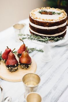 Favorite Winter Tablescape (by Just West Designs and Sprinkles for Breakfast)