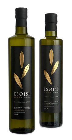 Olive oil packaging, beverages, food and drink. Olive Oil Packaging, Bottle Packaging, Rum Bottle, Liquor Bottles, Olives, Olive Oil Brands, Wine Bottle Design, Olive Oil Bottles, Food Packaging Design