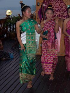 via www.mountainadventures.com Traditional dancers, Northern Laos