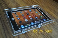 iPad mini VESA Mount Enclosure, Clear Acrlyic material for POS, Kiosk, Square Card Reader Ipad Mini, Vesa Mount, Square Card, Kiosk, Card Reader, Computer Accessories, Desktop, Electronics, Wall Mount