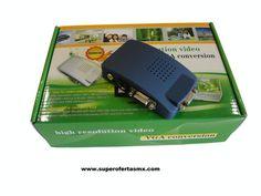 Convertidor VGA en caja