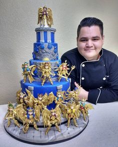 😭😭😭😭make me a cake like this! Cake Boss, Dad Cake, Otaku, Christmas Decorations To Make, Christmas Desserts, Anime Cake, Bolo Cake, Occasion Cakes, Pretty Cakes