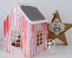UHK Gallery - inspiracje: Home decor - świecznik/domek
