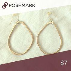 Earrings Gold Abstract Dangle Earrings Jewelry Earrings
