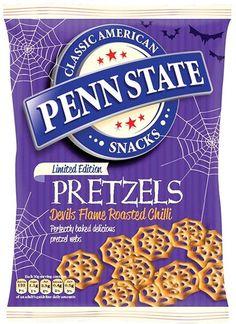 Penn State Halloween Pretzels