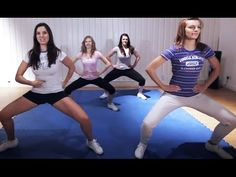 Cheerleading Conditioning Workout - YouTube