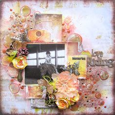 Love Riding- 7 DOTS STUDIO - Scrapbook.com