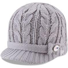 22c25e1ef New Era Green Bay Packers Women s Gray Button Blast Knit Beanie. NFL Caps    Hats
