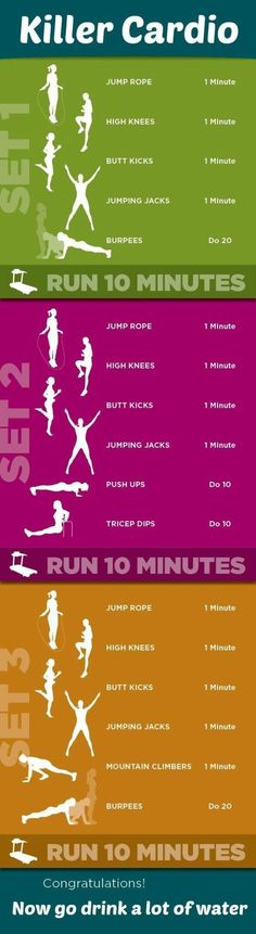 Train Dirty Killer Cardio Workout - #fitness #motivation #workout #plan