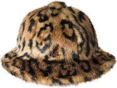 7246924b65f2c KANGOL - Kangol Faux Fur Casual Bucket Hat - Walmart.com