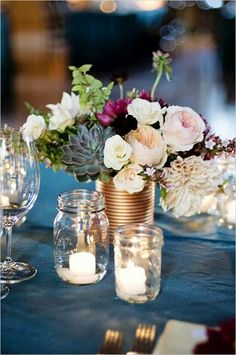 Stunning table centerpiece!