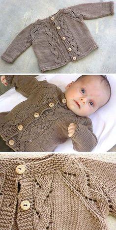 Sunnyside Cardi - Free Pattern - knitting baby patterns , Sunnyside Cardi - Free Pattern Free Knitting Pattern To test. Baby Cardigan Knitting Pattern Free, Knitting Patterns Boys, Baby Sweater Patterns, Knit Baby Sweaters, Knitting For Kids, Baby Patterns, Free Knitting, Baby Boy Sweater, Knitting Stitches