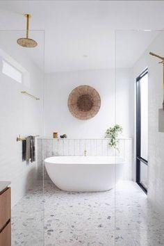 Reece Bathroom, Wet Room Bathroom, Narrow Bathroom, Upstairs Bathrooms, Family Bathroom, Master Bathroom, Spa Inspired Bathroom, Shower Remodel, Wet Rooms
