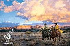Somerset Fine Art - Racing Sundown by Tim Cox