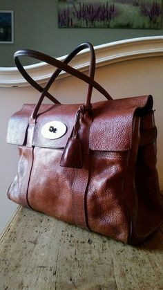 b809c90e40c Timeless Stunning Classic Mulberry Large Bayswater In Oak Beautiful Patina ♡