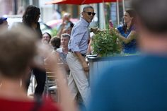 WASHINGTON (AP) — It's date night for President Barack Obama and his wife, Michelle. #May28th #2016 #President Of The United States 🇺🇸#BarackObama is treating his Wife #FirstLady Of The United States 🇺🇸 #MichelleObama to a #Mexican meal at the restaurant #Oyamel in Washington's Penn Quarter neighborhood. The #Obamas have dined several times at the establishment owned by celebrity chef and Obama supporter Jose Andres.