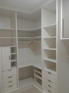 Bedroom Cupboard Designs, Bedroom Closet Design, Bedroom Wardrobe, Corner Closet Organizer, Closet Storage, Closet Organization, Master Closet, Walk In Closet, Corner Wardrobe