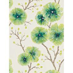 BuyHarlequin Floral Kabala Wallpaper, Gooseberry, 111082 Online at johnlewis.com