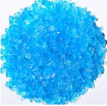 Turquoise Tumbled Glass