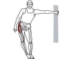 Hip Adductors Hip Abductors Hamstring Muscles Most therapists agree that stretching is a key component of their trigger point treatment protoc Hip Stretching Exercises, Hip Flexor Exercises, Hamstring Muscles, Muscle Stretches, Sciatica Exercises, Back Pain Exercises, Knee Strengthening Exercises, Fitness Workouts, Fitness Plan