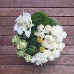 We love this shot of our Kate bouquet from @kathacot! #sendhappy