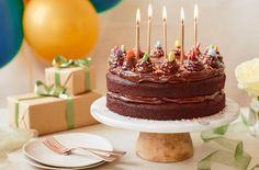 How to bake a 1-hour chocolate birthday cake | Tesco Real Food