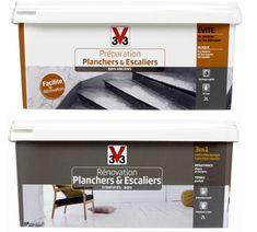 Kit peinture Rénovation Planchers et escalier V33