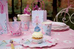 Hercegnő party kellékek - Princess party supplies