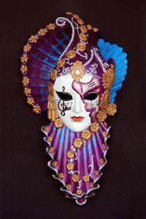 R plicas de m scaras sun and moon para la decoraci n de - Decoracion de carnaval ...