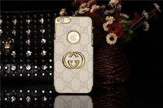 LV GUCCI Hard Case mit goldem Rändern für iPhone 6 - spitzekarte.com