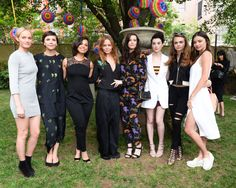 Amber Valletta, Maggie Gyllenhaal, Alicia Keys, Stella McCartney, Liv Tyler, St. Vincent, Cara Delevingne, Miranda Kerr. See all the best party pics (along with what celebs attended) from Stella McCartney's Havanna-themed 2016 resort presentation/garden party in New York City.
