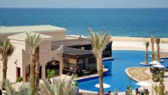 On the little-known island of Sir Bani Yas, the resort has Arabian Gulf views at every turn.