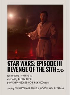 Revenge of the sith by Millie