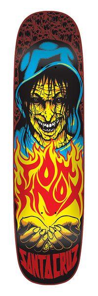 Santa Cruz Skateboards: Decks: 8.47in x 32.25in Knox Witch Deck
