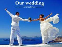"""Have a 'bucket list' #GreekWedding on beautiful #Santorini:, says tour specialist Archaeologous.com.  #VacationGreece  Voted #1HoneymoonLocation."