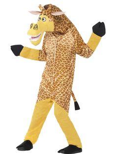 Madagascar Melman The Giraffe Costume Smiffys Fancy Dress Costume Animal Fancy Dress Costumes, Fancy Dress Outfits, Animal Costumes, Men's Costumes, Costume Ideas, Fancy Dress Store, Fancy Dress For Kids, Giraffe Fancy Dress, Hippo Costume