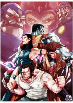 the Uncanny X-Men by Arioanindito.deviantart.com on @deviantART