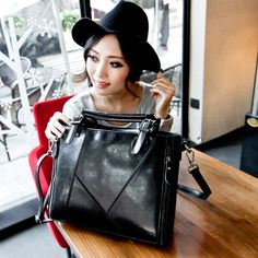 0ed818721b 2014 latest fashion ladies leather shoulder bag handbag models Messenger  bag stitching leather