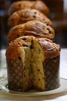 Pan dulce panettone (Muy Facil y Rico) Authentic Mexican Recipes, Mexican Food Recipes, Sweet Recipes, Real Food Recipes, Simple Sweet Bread Recipe, Panettone Bread, Christmas Bread, Italian Christmas, Pan Bread