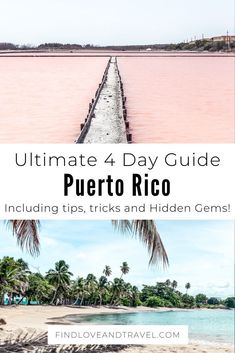 Puerto Rico: Ultimate 4 Day Guide How to Spend 4 Perfect days in Puerto Rico! Puerto Rico Trip, San Juan Puerto Rico, Samana, Cool Places To Visit, Places To Go, Les Bahamas, El Yunque National Forest, Zona Colonial, Cuba