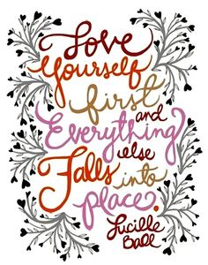 With errands, work, and life just getting in the way, don't forget to love your self. You deserve some pampering now and again!