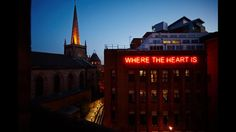 Where the Heart Is Sign, Leeds